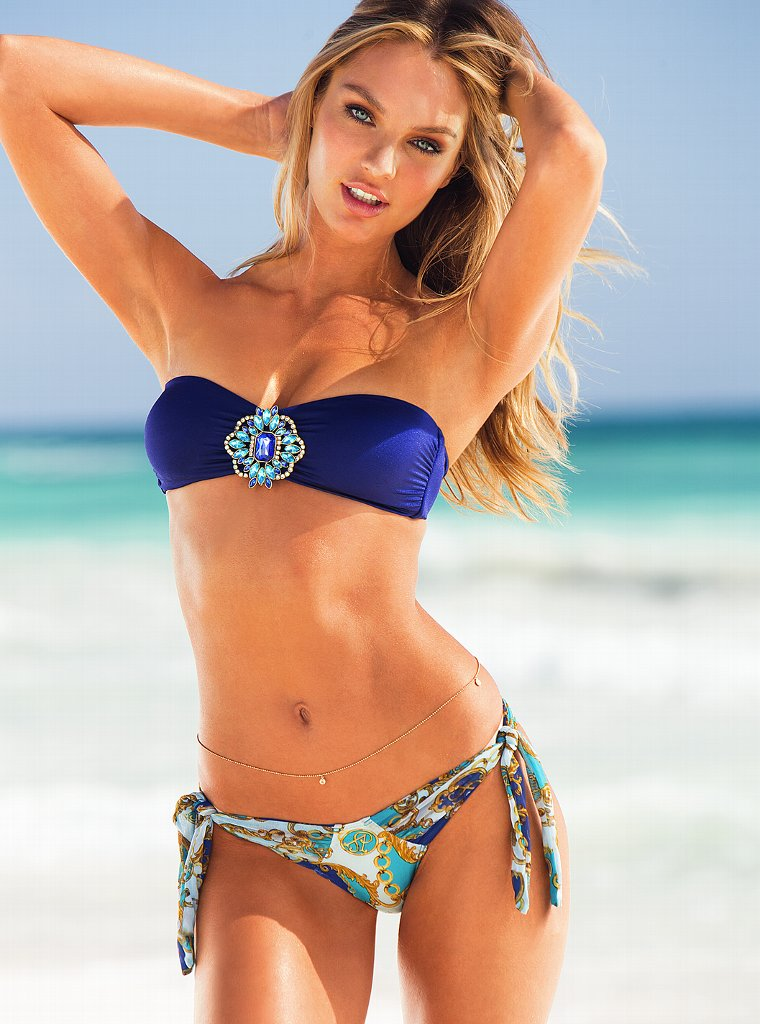 The Hottest Bikini Facts and Most Iconic Celebrities ... Alessandra Ambrosio Necklace
