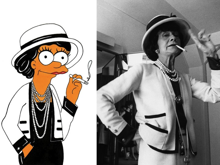 Coco Chanel Simpson