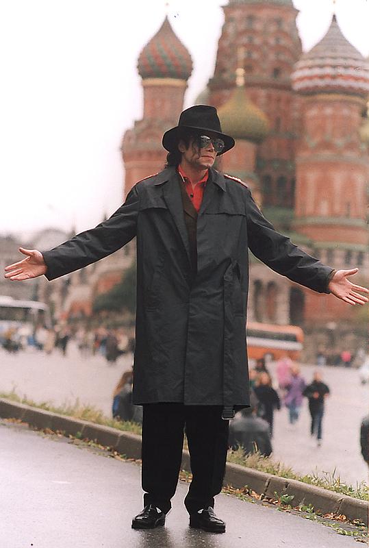 MichaelJacksonin Moscow