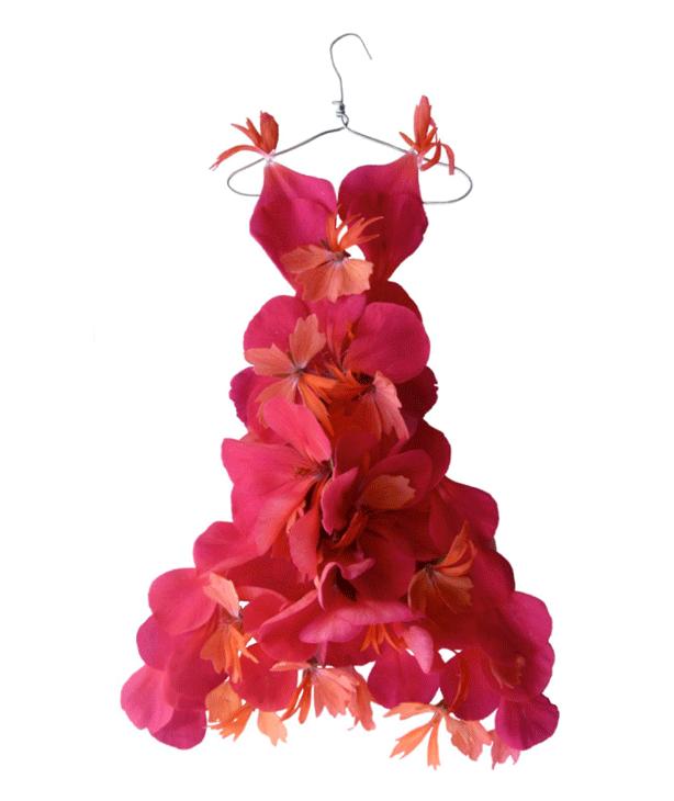 Geranium Petals Dress