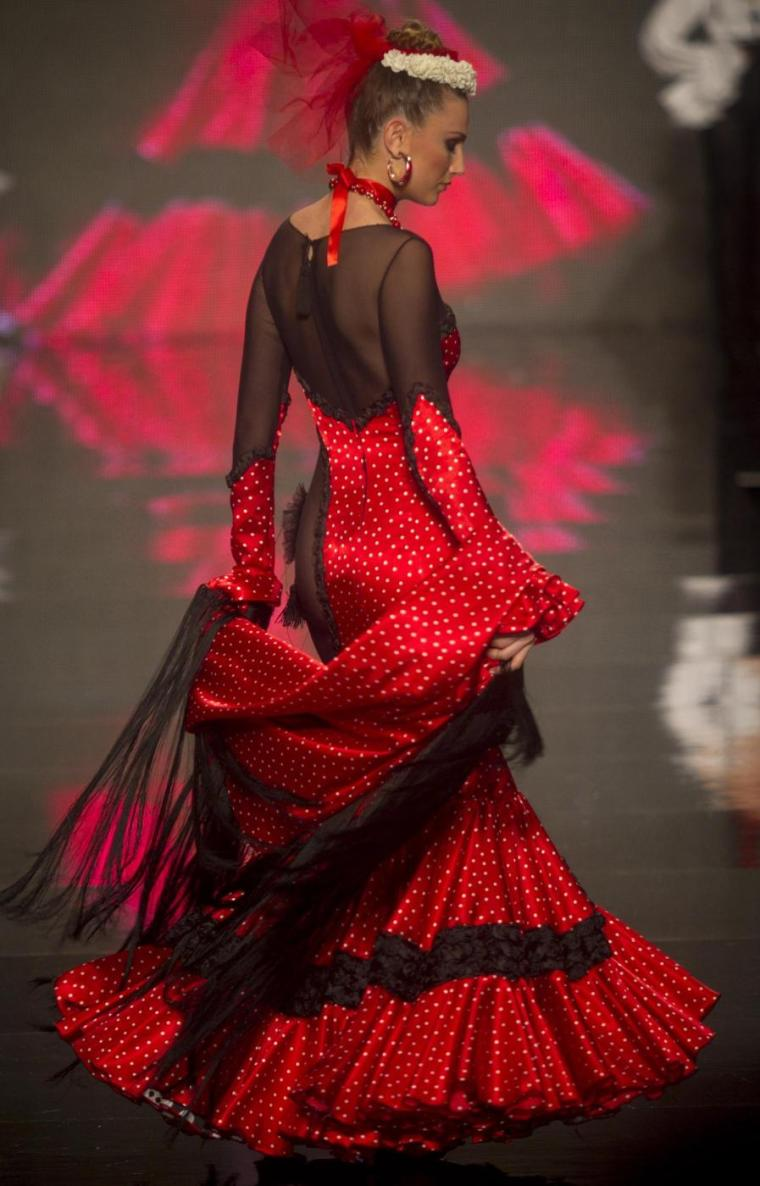 Siviglia, le sfilate dell'International Flamenco Fashion Show