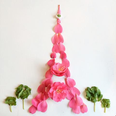 Floral Eiffel